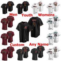 Baseball Jerseys Womens Andrew Chafin Jersey 51 Randy Johnson 22 Jake Lamb 6 David Peralta 25 Archie Bradley 20 Luis Gonzalez Stitche personalizado