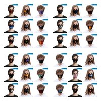 40 Styles Halloween Face Mask Fashion 3D Printed Pumpkin Ele...