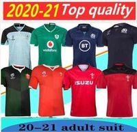 2020 Rugby Galler Kırmızı Yeşil Formalar Dünya Kupası İskoçya İrlanda Erkekler Rugby Gömlek 20 21 En Kaliteli Rugby Gömlek Boyutu: S-3XL