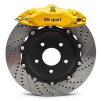 piezas de automóviles 9200 Pinza de freno 330 del freno del freno de 28 mm * de carreras juego de discos de rueda delantera de 17 pulgadas para Mercedes E250