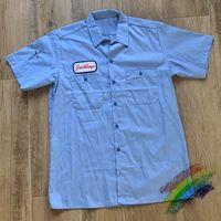2020fwss camiseta de los hombres de las mujeres de Calle 1 camiseta azul la mejor calidad camisetas