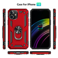 Magnetic Car Holder Ring Military Shockproof PC+ TPU Case Fo...