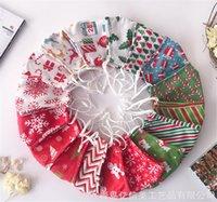 Nuovo Festive Buon Christmas Party maschera Xmas Decor Navidad Natal regalo di Babbo Natale faccia coprire Elk Felice Anno Nuovo