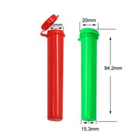 Polen Empaquetado Tubo de plástico de colores tubos con tapón de pre-roll juntas secas Hierbas Embalaje Envase aceite espeso vapor cartuchos Tubo