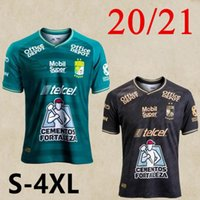 Большой размер 20 21 Club Leon Soccer Tehersys Home And S-4XL León Macias Ramos W.tesillo ángel M.Campbell Футбольные рубашки MEN1
