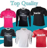 S-XXL 2011 12 ligue Real Madrid maillot de football KAKA RONALDO RAUL BENZEMA ALONSO 98 99 jersey rétro 13 14 15 chemise classique