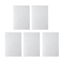 Süblimasyon Boş Puzzle 120pcs DIY Craft Isı Basın Transferi El Jigsaw beyaz A4 Blank Bulmacalar Boş Bulmacalar Kargo Ücretsiz Bulmaca