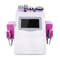 슈퍼 6in1 Cavitation RF 마이치 웨이 공급 장비 Tripolar 무선 주파수 650nm 5MW 레이저 바디 모양 슬리밍 기계