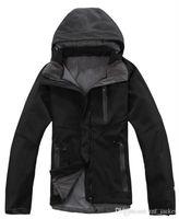 bajo precio de la chaqueta de la mujer al aire libre sudaderas SoftShell norte chaquetas Apex Bionic impermeable a prueba de viento chaqueta de esquí cara camping Sportswe 90