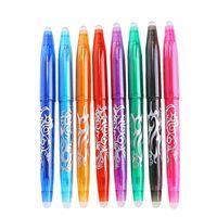 8 Colorful / Set löschbare Gel-Feder-Farbtinten 0.5mm Kugelschreiber Refill Rod für Schule Kreative Planer Zeichnung schriftlich Kawaii Briefpapier