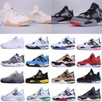 2020 New Best Jumpman 4 Mens Sapatos Basquete Bred cimento branco 4s IV Tênis Esportes Running Shoes Mulheres Trainers Tamanho 5,5-12