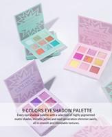 Макияж глаз HANDAIYAN Eyeshadow Pallete 9 Цвет Shimmer Пигментные Eye Shadow Maquillage Матовый Shimmer Eye Shadow Powder красоты