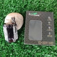 정통 Kangvape TH420V 전자 담배 키트 미니 박스 TH-420 VAPE MOD 420 II 2 650mAh 예열 배터리