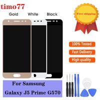 La meilleure qualité pour Samsung Galaxy J5 premier écran tactile de G570 dhl montage sans numériseur d'affichage avec 2 ans de garantie