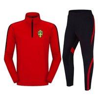 Eşofmanlar Gündelik rahat Futbol takım koşu Açık İsveç Futbol Kulübü sıcak erkek eğitim takım elbise Polyester ceket