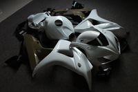 2020 unpianted Motorcycle Panel Carénage Kit carrosserie complet en plastique Ensemble complet Fit Pour CBR 1000RR 2004-2005 Gloss White CBR1000 2006-2007