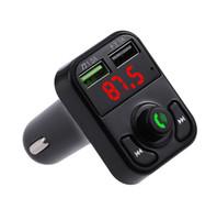 Auto B2 X3 Trasmettitori Bluetooth multifunzione 2.1A Caricabatterie Dual USB FM MP3 Lettore Kit Supporto TF Card Handsfree E5
