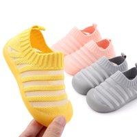 Neugeborenes Baby Boy Schuhe Kleinkind-Mädchen-Jungen-Walking-Schuhe Kind-Sommer-erste Wanderer für Säuglings- New Born Prewalker