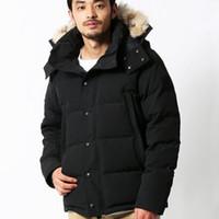 남자 겨울 fourrure 다운 파카 homme 자산 chaquetas 겉옷 늑대 모피 후드 웨딩 manteau Wyndham Jacket Coat Hiver Doudoune