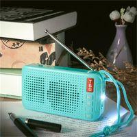 Lâmpadas solar novo alto-falante sem fio Bluetooth USB carregamento solar lanterna LED ao ar livre alto-falante externo de luz de rádio FM estéreo pequeno