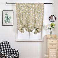 Impreso ventana Blackout cortinas de la sala de estar Dormitorio persianas cortina de ventana Tratamiento Persianas cortinas terminados 102 * 160 cm DBC DH0900-9