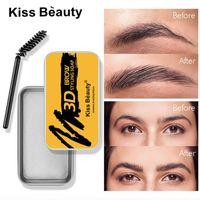 Balm Styling Brows Soap Kit 3D Feathery Brows Makeup langlebiges Wasserdicht Augenbrauen Klare Fest Gel Pomade Tint