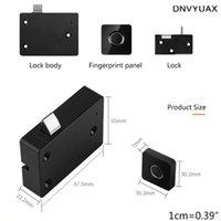 Smart Lock 1Set Anti Theft Automatic Fingerprint USB Drawer Cabinet Electronic