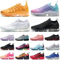 TN Plus أحدث أحذية Huarache جدا الجري رجال نساء الثلاثي الأبيض رجل مدرب كلاسيك الرياضة أحذية رياضية تنفس عداء أحذية حجم 36-45