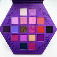 Nouvelle star maquillage fard à paupières Palette Blood Lust Eye Shadow 18 Couleurs Violet Artistry Shimmer Ombres à paupières et mat Palette