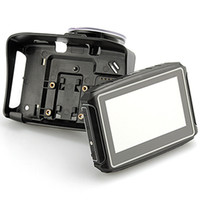 4,3 Zoll Motorrad GPS-Navigation mit Bluetooth-Unterstützung A2DP-wasserdichtes Auto GPS Navigator Touchscreen 256MB 8 GB Sonnenschutzvisier