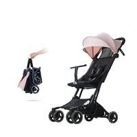 Bebek Arabası Bebek Seyahat Pram Ultra hafif Portatif Katlanır Şemsiye Arabası Dört tekerlekli Bebek arabası