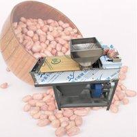 Alta eficiencia tipo de acero inoxidable completa seco de maní capa roja máquina / asado cacahuete kernel piel removedor pelador peeling