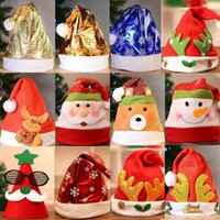 Christmas Ornaments Decoration Christmas Hats Santa Hats Chi...