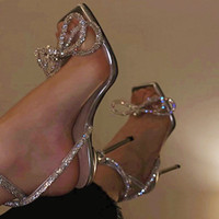 2020 yaz yeni kare kafa rhinestone papyon sarma sapanlar bayanlar sandalet