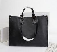 2020 top femmes véritable concepteur en cuir OnTheGo sacs à main fourre-tout tordre l'épaule sac shopping sac messenger poches Totes Sac cosmétique