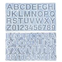 Alfanumérico Números Mold alfabeto Diy Fondants Mold Baking Tools bolo enfeitam suprimentos Moldes cookies Biscuit Kitchen 10 2BJ C2