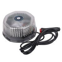 illuminazione 240 LED DC12V auto veicolo impermeabile magnetico montato lampeggiante stroboscopica luce di emergenza Beacon Avviso lampada