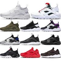 huarache IV 4.0 IV 1.0 الرجال الاحذية الثلاثي أسود أبيض أحمر huaraches الفضة الرجال المدربين رياضة المرأة أحذية رياضية EUR 36-45