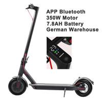 Scooter eléctrico D8 Pro Smart E Scooter Skateboard 8.5 pulgadas 350W 25km H 30km Motor Cabeoso plegable Hoverboard Longboard 30km en stock