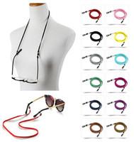 enmascarar la cadena del sostenedor de los vidrios de la venta caliente de la correa de cadena ajustable lentes de las gafas titular de cuerda cuerda Anti Slip Gafas Gafas de accesorios Cable