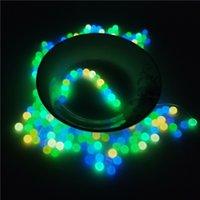 Rauchen leuchtendes Glühen 6mm 8mm10mm 12mm Quarz Terpenperlenkugeleinsatz mit rot blauen grünen Klarglas Top Pearls
