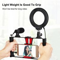 4in1 Vlogging Live Broadcast Smartphone Video Rig 4. 6In Ring...