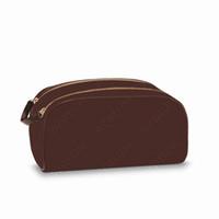 Hohe Qualität Männer und Frauen Reisen Große Kapazität Waschbeutel Kosmetische Toilettenbeutel Beauty Makeup Case Pochette Doppel Zippy Kits 3 Farben