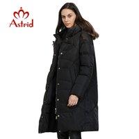 Kadın Aşağı Parkas Astrid 2021 Kış Varış Ceket Kadınlar Gevşek Giyim Giyim Kalitesi Bir Hood ile Moda Stil Ceket AR-6599
