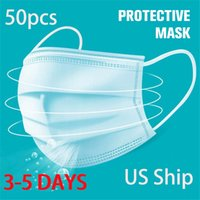 Free Shipping 3- 7 Disposable Face Masks Child Adult Disposib...