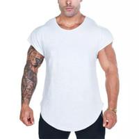 남성 탱크 탑 스포츠웨어 Stringer Shirt Menstank Top Musculation Fitness Singlets 민소매 체육관 의류 보디 빌딩 운동 메쉬 조끼 뮤