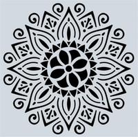 حار الفنون الحرفية 32 الأنماط 15 * 15cm و ماندالا الإستنسل DIY منزل الديكور رسم الليزر قطع قالب حائط استنسل الرسم لالخشب البلاط نسيج