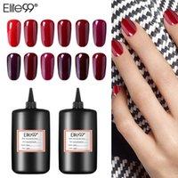 Gel per unghie Elite99 30ml / 60ml / 100ml / 250ml Wine Red Series Polish Laccato smalto UV Led Soak Off Art Manicure