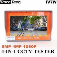 رصد المعصم تستر CCTV IV7W IV5 IV7A AHD TVI السيدا CVBS 4.3 / 5 بوصة 5 / 8MP كاميرا التلفزيون المركزى الصينى تستر على غرار دعم UTP PTZ RS485