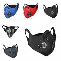 Outdoor Sport Anti-Staub-Maske für Riding wasserdichte staubdichte Gesichtsmaske mit Atemventil Reiten Radfahren Masken CYZ2614